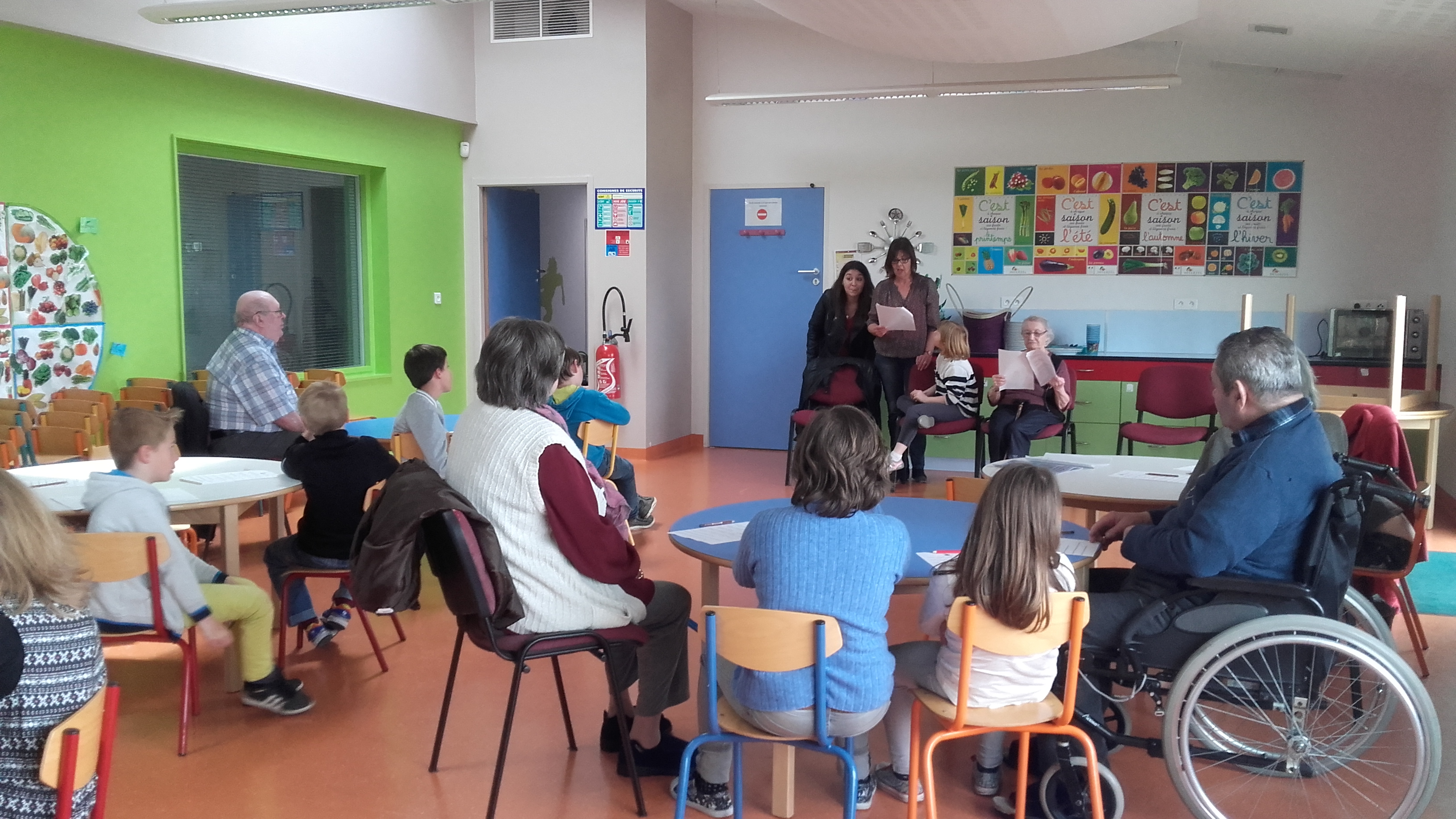 rencontre intergenerationnelle creche